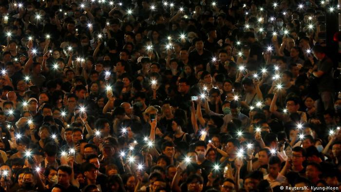 China | Hong Kong Proteste (Reuters/K. Kyung-Hoon)