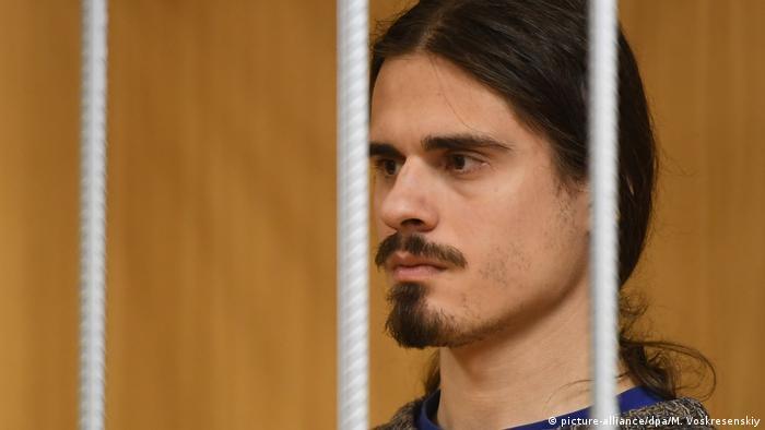 Иван Подкопаев на скамье подсудимых