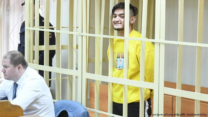 Russland Justiz l Anklage wegen nicht autorisiertem Protest - Samariddin Radzhabov