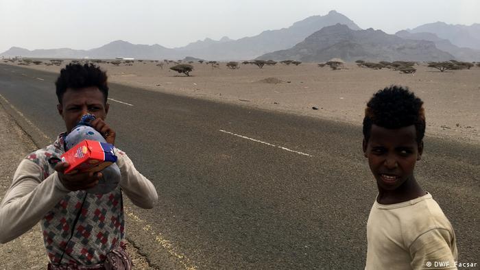 Jemen   Ostafrikanische Flüchtlinge im Jemen
