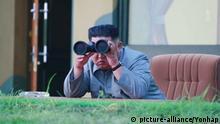 Nordkorea Präsident Kim Jong Un