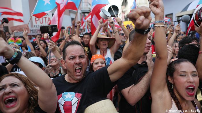 Puerto Rico protests (Getty Images/J. Raedle)