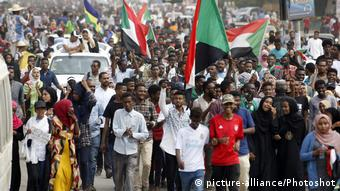 Unruhen im Sudan | Demonstration