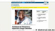 Screenshot Journalist Jorge Celestino Ruiz