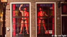 Niederlande Männliche Sexarbeiter in Amstedam