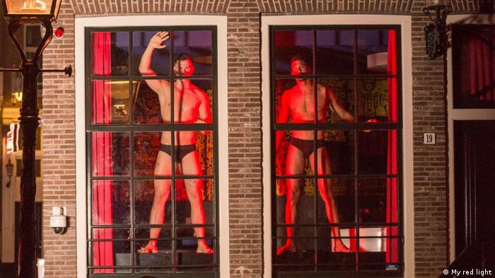 Male sex workers in Amsterdam
