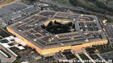 USA Sicherheit l Pentagon in Washington D.C. - Luftaufnahme