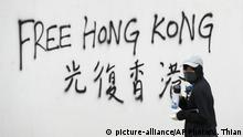 Hongkong Anti-Regierungsproteste (picture-alliance/AP Photo/V. Thian)