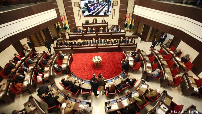 Symbolbild: Kurdisches Parlament im Irak