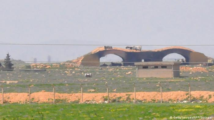The Shayrat airfield