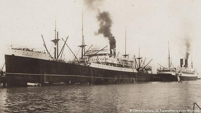 Brod Vinipeg, 1939.