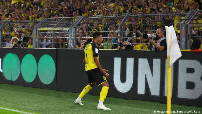 Fßball DFL Supercup 2019 | Borussia Dortmund v Bayern München | Jadon Sancho