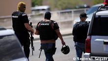 Police arrive after a mass shooting at a Walmart in El Paso, Texas, U.S. August 3, 2019. REUTERS/Jorge Salgado NO RESALES. NO ARCHIVES.