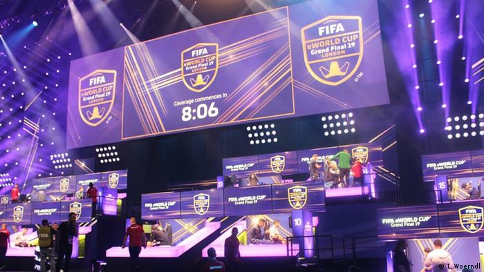 FIFA eWorld Cup in London (T. Woerndl)
