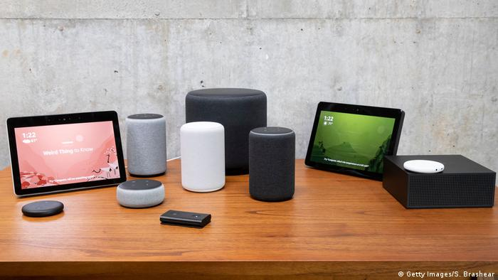 Amazon Alexa devices (Getty Images/S. Brashear)