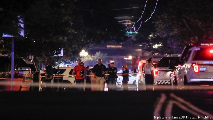 Die Bluttat von Dayton geschah im Stadtviertel Oregon, das für seine Nachtclubs, Bars und Kunstgalerien bekannt ist (Foto:picture-alliance/AP Photo/J. Minchillo)
