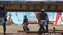 Russland Protestkundgebung für faire Wahlen in Moskau