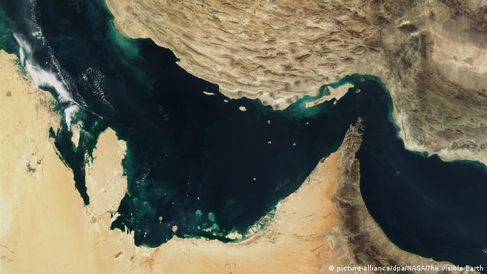 Iran setzt «ausländisches» Schiff fest (picture-alliance/dpa/NASA/The Visible Earth)