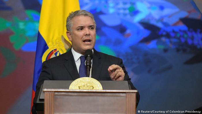 Kolumbien l Präsident Iván Duque