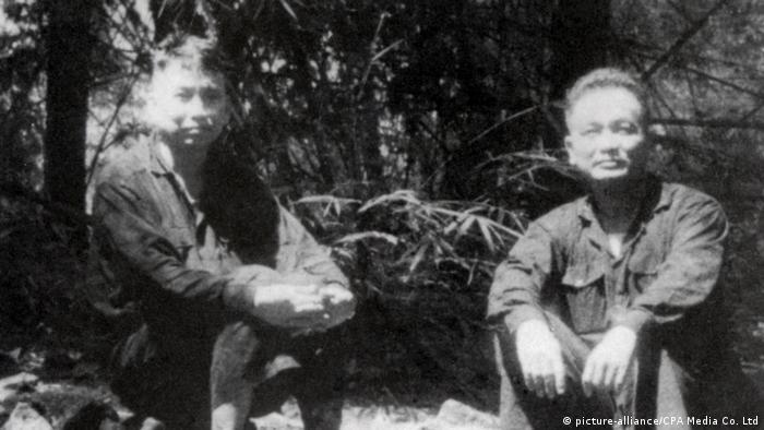Kambodscha l Führungsspitze der Roten Khmer Pol Pot und Nuon Chea