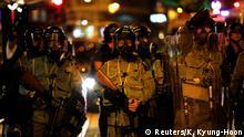 Hongkong Anti-Regierungsproteste - Sicherheitskräfte