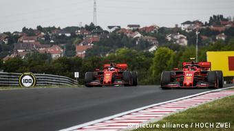 Formel 1 Großer Preis von Ungarn l Charles Leclerc und Sebastian Vettel