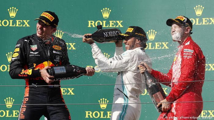 Großer Preis von Ungarn - Sieg Lewis Hamilton