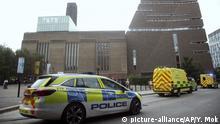 London: Unfall im Museum Tate