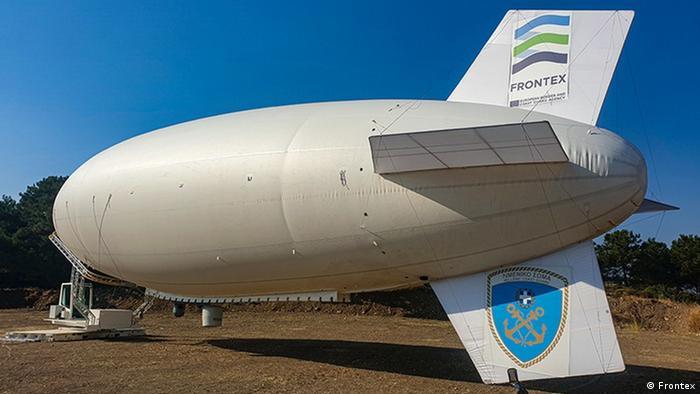 Frontex, Aerostat balonuyla takip ve gözetleme teknolojisini güçlendiriyor.