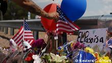 USA El Paso | Trauer nach Anschlag
