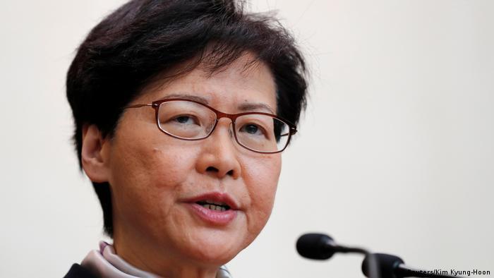 Hongkong Proteste gegen China PK Carrie Lam (Reuters/Kim Kyung-Hoon)