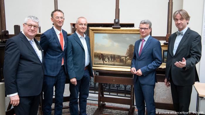 München Rückgabe von neun NS-Raubkunstwerken