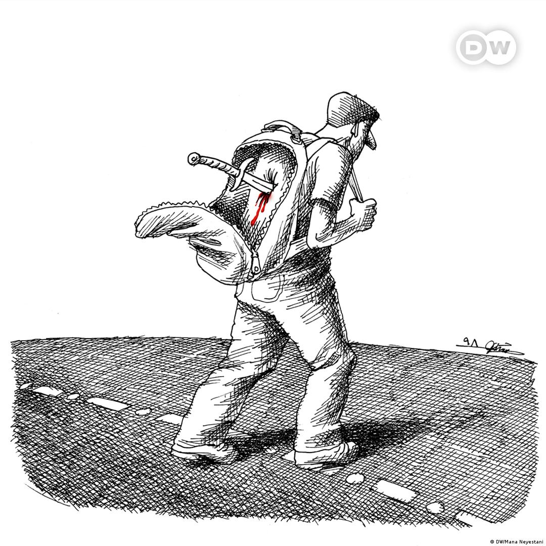 Karikatur der Woche Iran (DW/Mana Neyestani)