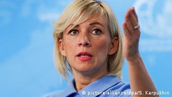 Maria Zaharova, purtătoare de cuvânt a Ministerului de Externe de la Moscova