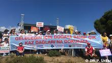 Proteste im Ida-Gebirge gegen eine Goldmine