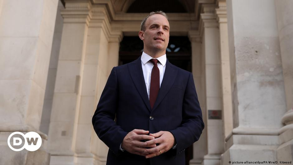 UK Cabinet reshuffle: Dominic Raab removed as foreign secretary