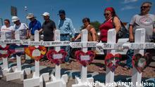 USA Trauer nach Anschlag in El Paso
