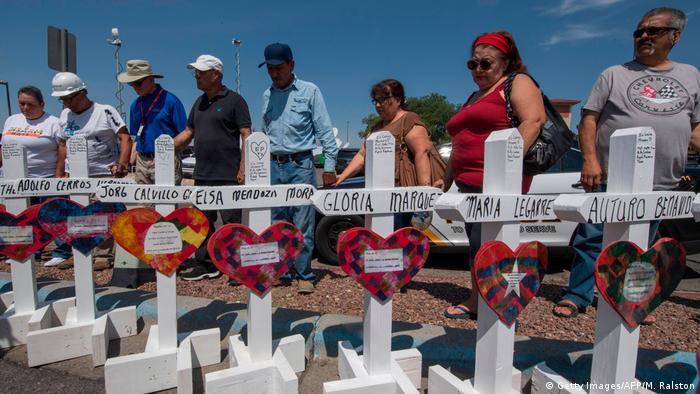 Ein Deutscher unter den Toten von El Paso