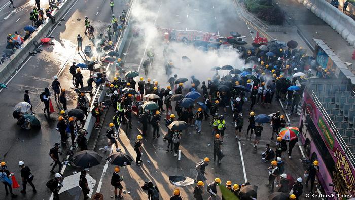 Hongkong Proteste gegen China