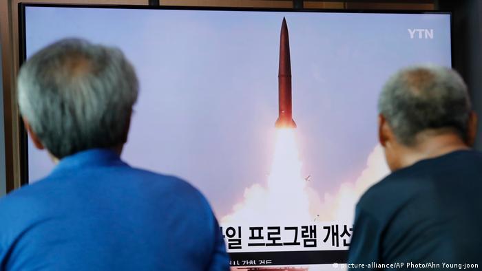 Südkorea Raktentest von Nordkorea