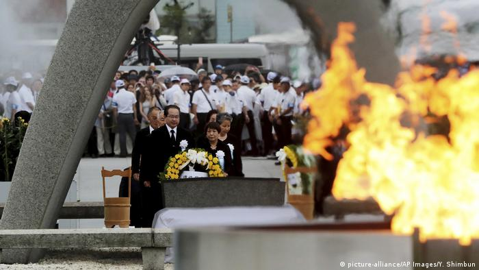 74. Jahrestag in Hiroshima