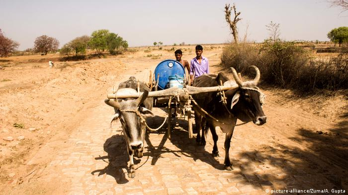 Indien Dürre in Bundelkhand (picture-alliance/Zuma/A. Gupta)