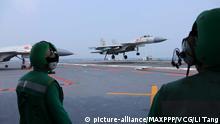 China Flugzeugträgerflotte