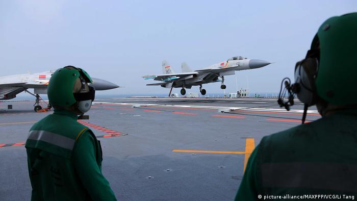 China Flugzeugträgerflotte (picture-alliance/MAXPPP/VCG/Li Tang)