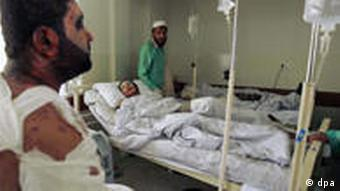Hospital treating Kunduz airstrike victims