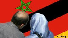 Symbolbild Paar Marokko Deutschland
