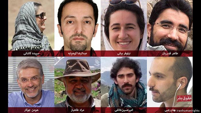 Iran inhaftierte Umweltaktivisten