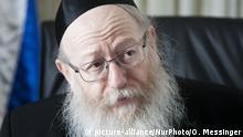 Yaakov Litzman israelischer Politiker