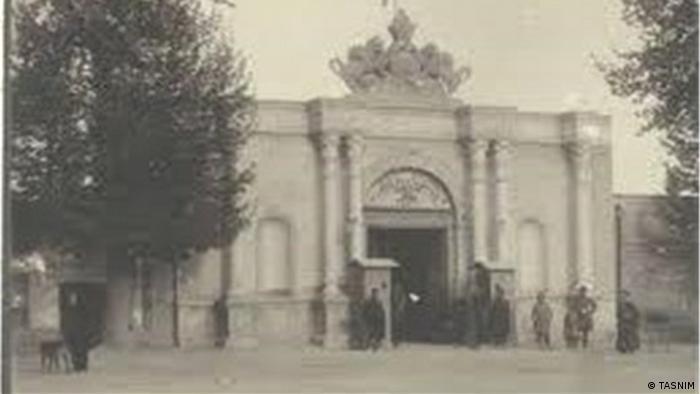 Iran erstes Parlament Gebäude außen (TASNIM)