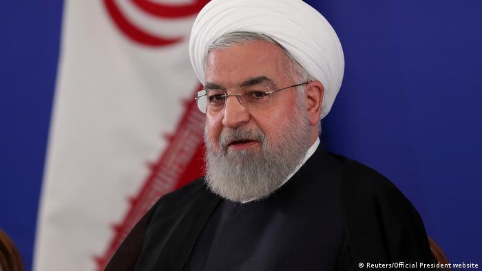 Iran, Teheran: Präsident Hassan Rouhani und Außenminister Mohammad Javad Zarif